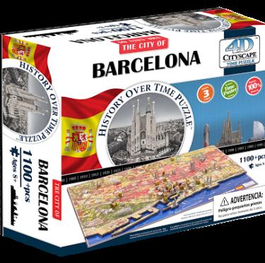 Puzzle 4D Barcelona
