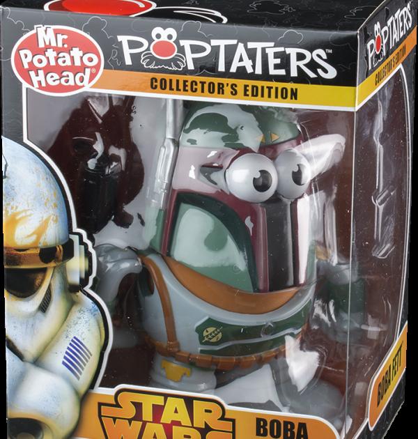 Boba Fett Mr Potato Star Wars