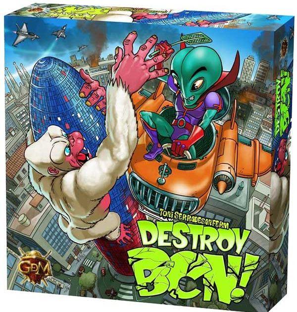 Destroy BCN! es el juego de dados que no usarás dados