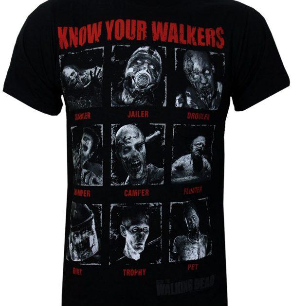 Camiseta de TWD