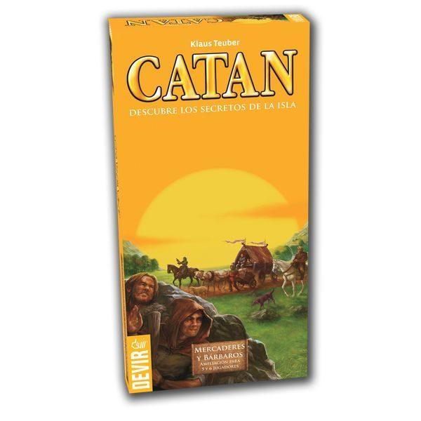 Catán Mercaderes y Bárbaros 5/6 jugadores