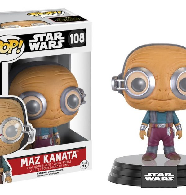 Star Wars El despertar de la fuerza Maz Kanata Pop