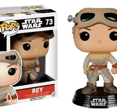 Rey con gafas Pop Edición limitada Star Wars