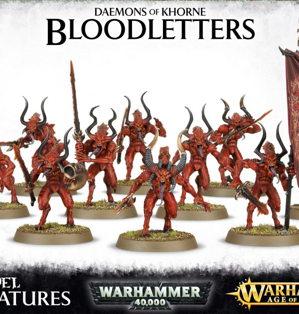 Daemons of Khrone Bloodletters
