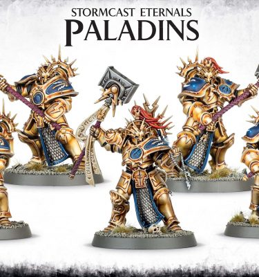 Stormcast Eternals Paladins Age of Sigmar