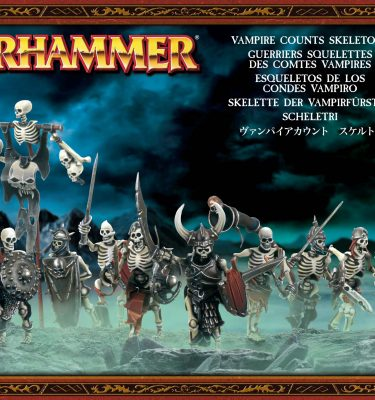 Vampire Counts Skeletons - La Caverna de Voltir