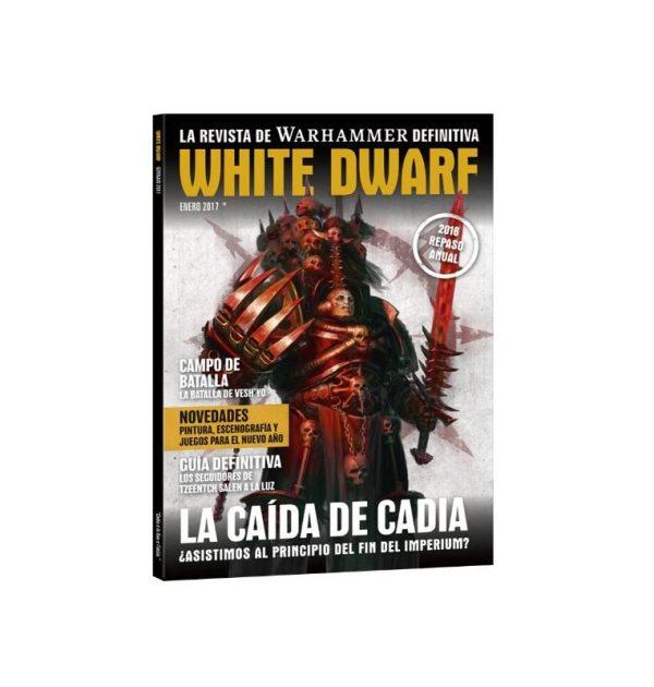 White Dwarf enero 2017 Revista Warhammer