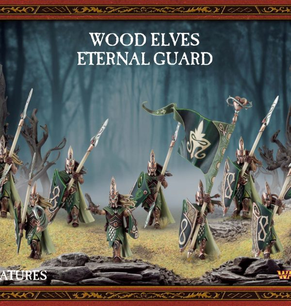 Wood Elves Eternal Guard Warhammer