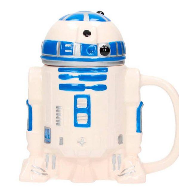 Taza 3D cerámica R2-D2- Star Wars