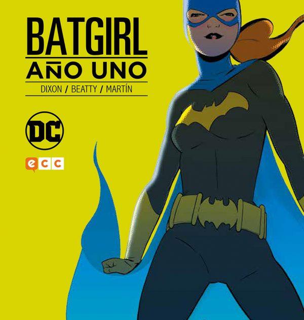 Batgirl año uno-DC- La Caverna de Voltir
