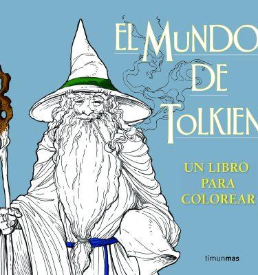 El Mundo de Tolkien: Un Libro para colorear