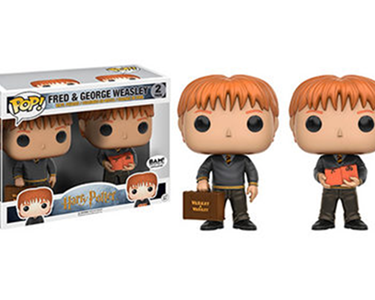 Fred & George Weasley Pop Saga Harry Potter