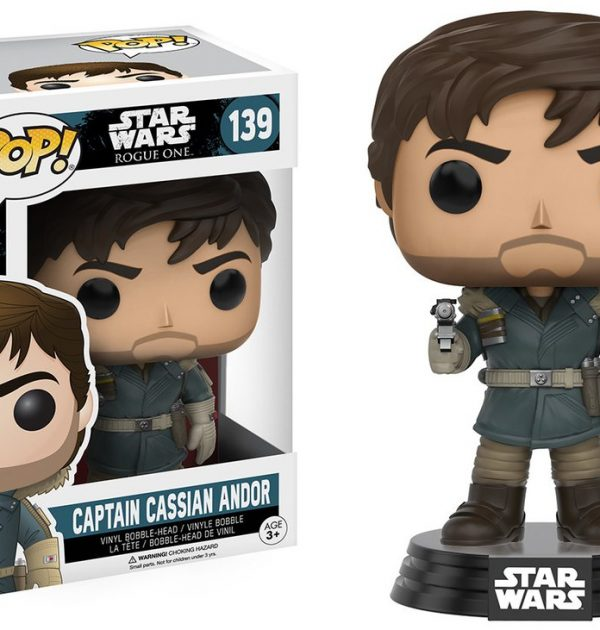 Captain Cassian Andor Star Wars Rogue One Pop