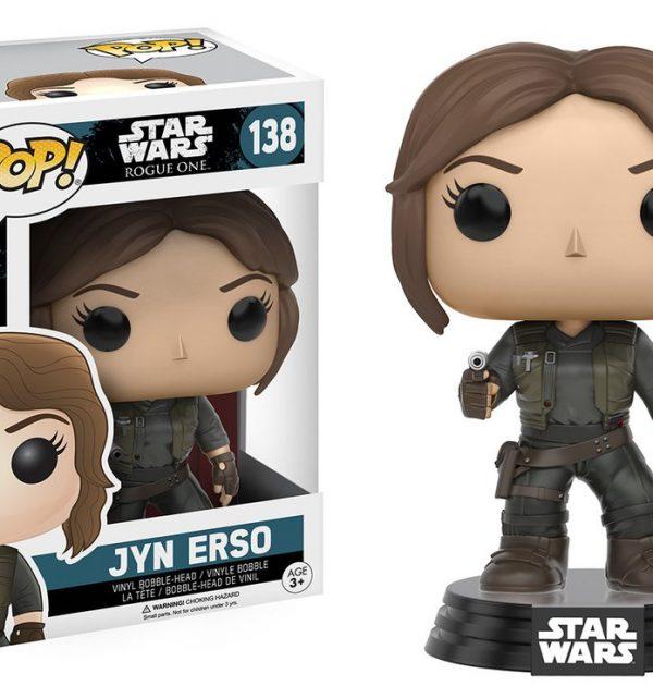 Jyn Erso Star Wars Rogue One Pop