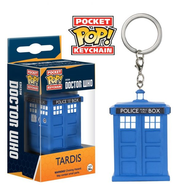 Doctor Who- Tardis - Llavero Pop