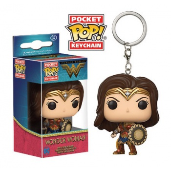 Wonder Woman Llavero Funko Pop