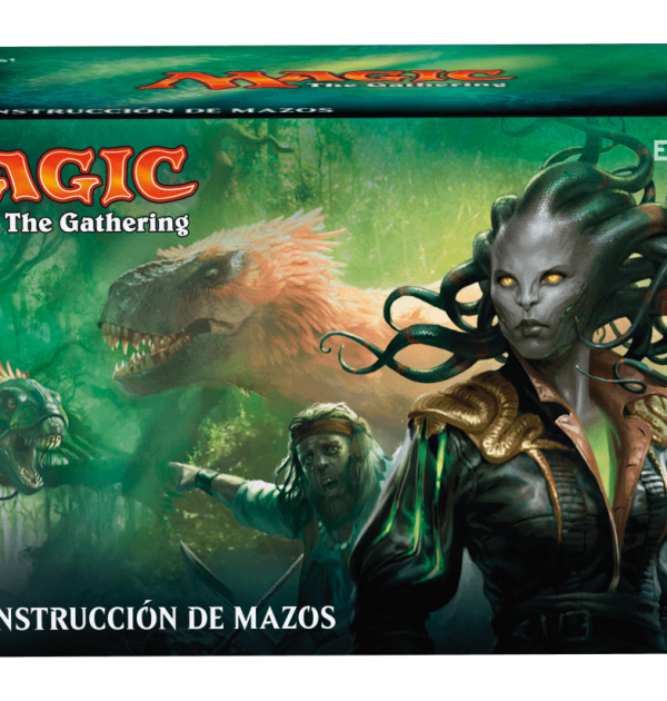 Kit de construcción de mazos Ixalan- Magic the Gathering- La caverna de Voltir-