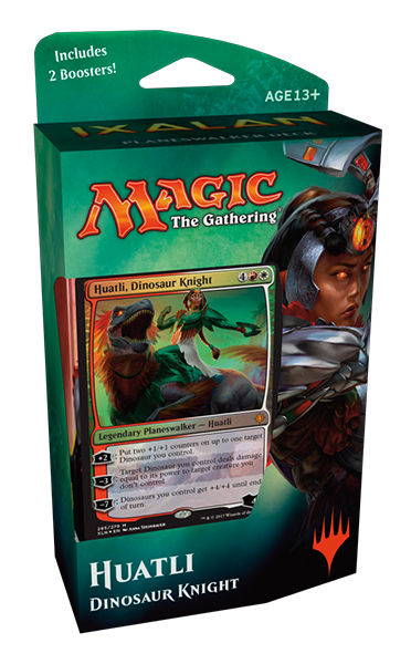 Mazo Planeswalker, Huatli de Ixalan- Magic the Gathering- La Caverna de Voltir