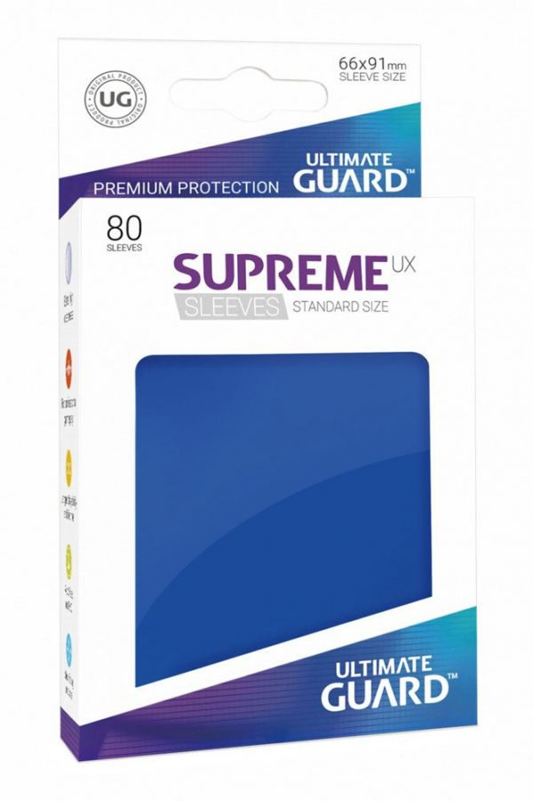 80 Funda Supreme Estándar - Ultimate Guard - Blue