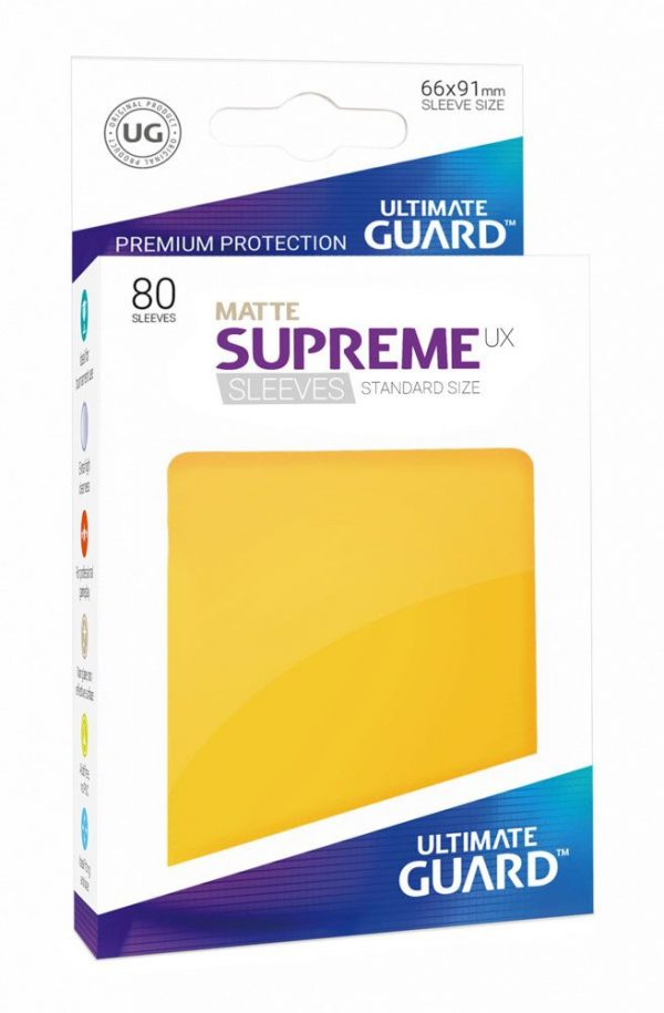 80 Funda Matte Supreme Estándar - Ultimate Guard