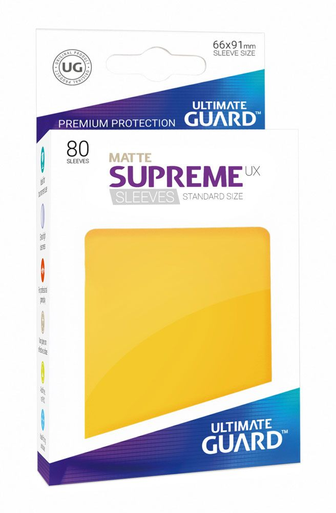 80 Funda Matte Supreme Estándar - Ultimate Guard