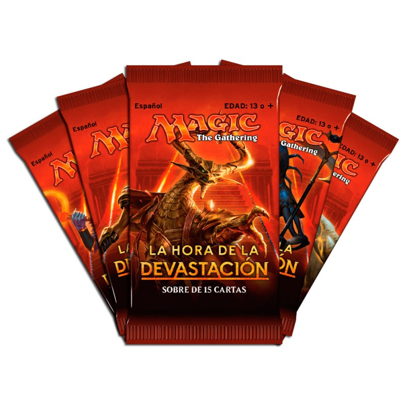 Sobre La hora de la devastacion - Magic The Gathering -